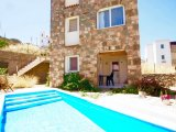 lovely detached Stone Villa with 2 separate unit in gumusluk bodrum