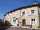 Village House with Garden and Garage in the Heart of Nanteuil en Vallee