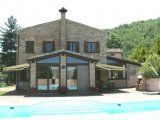 villa with exclusive courtyard and swimming pool