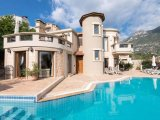 BEAUTIFUL VILLA IS IN A SELECT POSITION ON A HILLSIDE WITH SEA VIEW