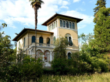 Historic Liberty-style villa with guest house for sale in Lucca Tuscany