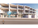 Shop space in new construction at the centre of Burgau