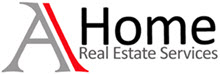 AHome Real Estate logo