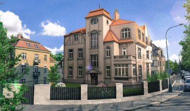 4 Modern apartments for sale in the Smichov district, Prague