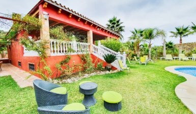 Finca with big house and pool close to Marbella, Rent Option to Buy