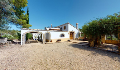 Villa For Sale in Murla North Costa Blanca Spain