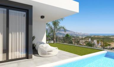 Villa For Sale in Polop Alicante Spain