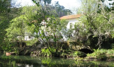 Three luxury detached villas, each with pool, on own river island